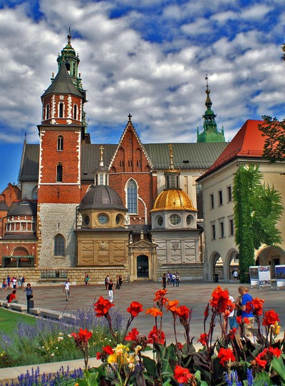 Wawel Cathedral Krakow,Poland