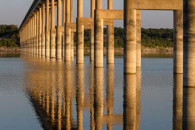Bridge at Sunrise