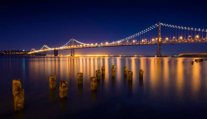 Bridge On The Bay by fidfoto - Spectacular Bridges Photo Contest
