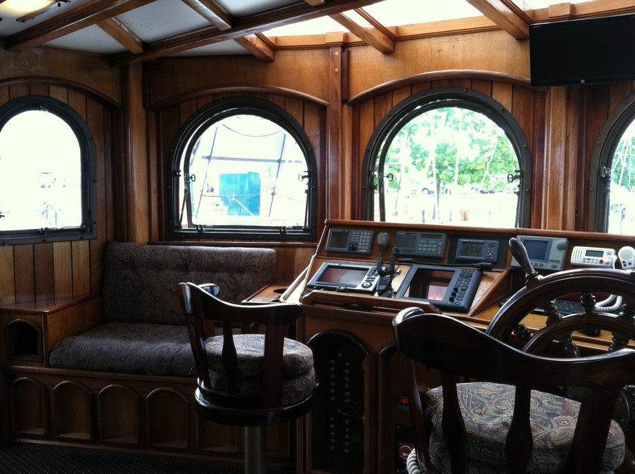 This photo was taken in a actual real Pirate ship, the ship is called the Peacemaker