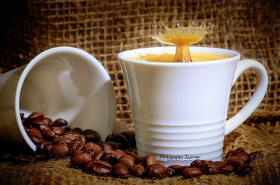 Espresso with a splash of milk