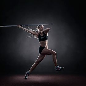 The thrid image in my fine art sports series. It was lit with 3 speedlites. One was in a parabolic umbrella to the camera right, the second light...