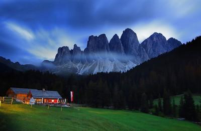 Le Odle , Val di Funes , Italy
