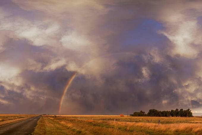 cecil plains rainbow by Dan2452 - Rainbows Overhead Photo Contest