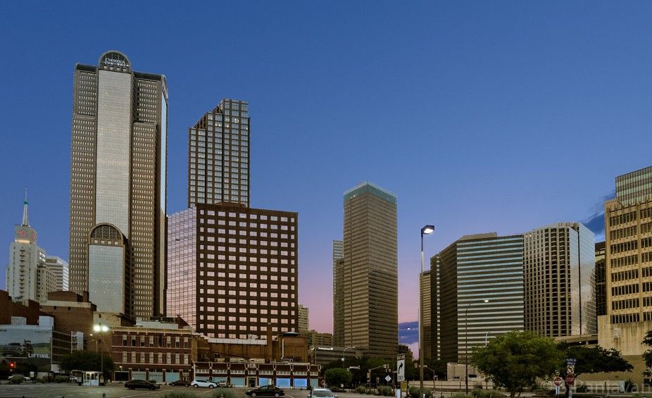 Downtown Dallas From The West Side