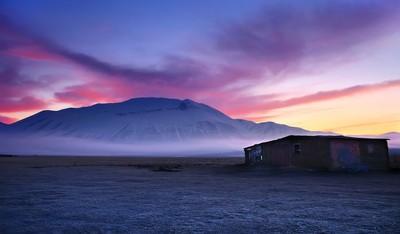 Sunrise in Sibillini Mountains