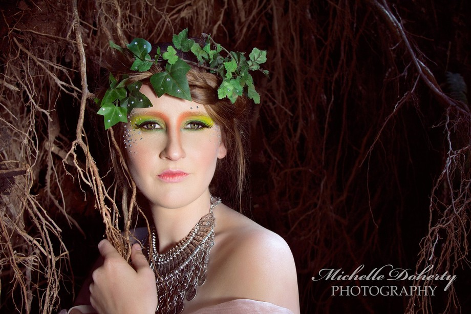 This image of soprano Jane Long was taken in a Vancouver Forest with jewelry by Cult of One, and ...