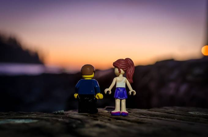 First Date by kenmcall - 300 Toys Photo Contest