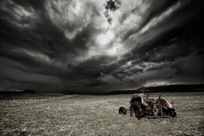 Stormy Clouds  (mono)
