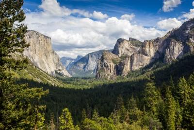 Summer day in Yosemite Valley