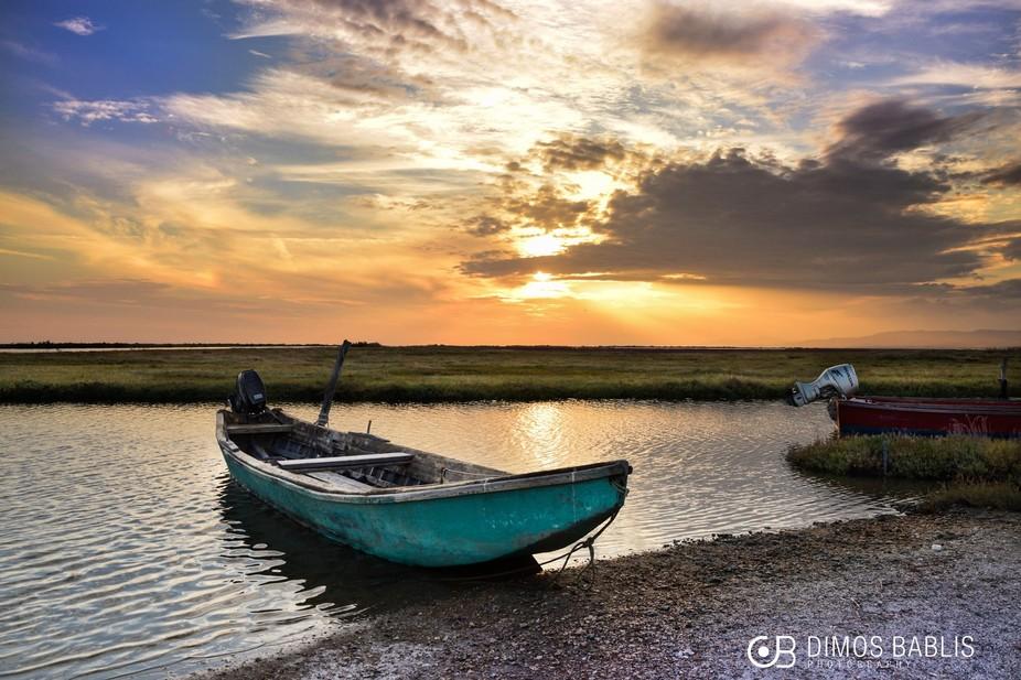 The delta of river Evros. Greece..!!