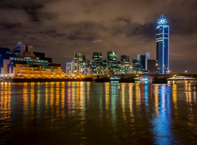 Vauxhall Bridge at Night