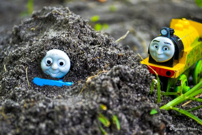 Thomas and Victor by SentiC26 - 300 Toys Photo Contest