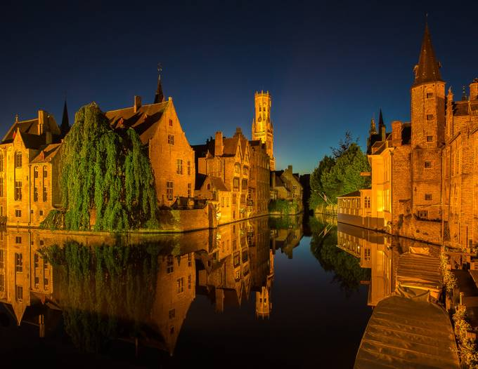 Bruges_Twilight by MartinPatten - Canals Photo Contest