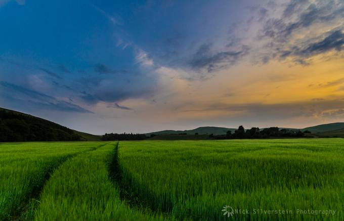 Dusk in the Yarrow Valley by NickSilverstein - Rural Vistas Photo Contest