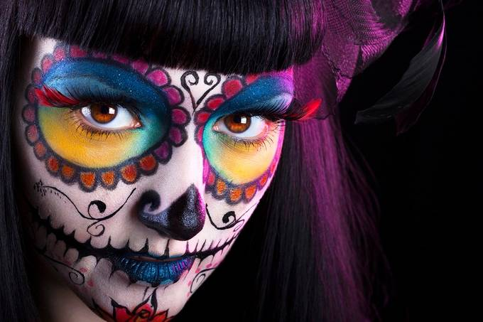 Dia Delos Muertos by stamat - Paint And Makeup Photo Contest
