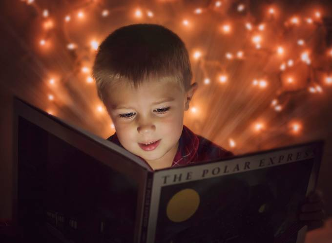 Magic in a Good Book by amandadodson - Holiday Lights Photo Contest 2017
