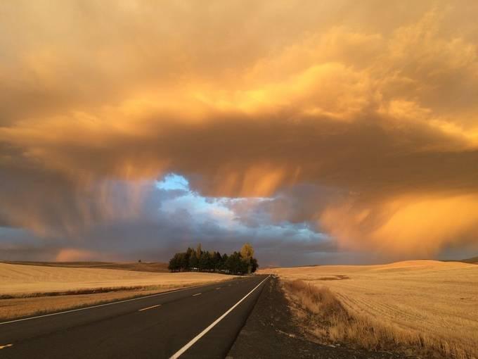 Autumn Storm by ajbeardslee - Magical Light Photo Contest
