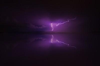 Lightning Reflection 2