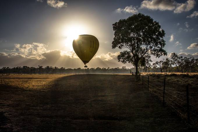 Lift Off by InfinitePhotography - Show Balloons Photo Contest