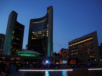 Toronto City Hall-At Nathan Phillip Square-Toronto,Ont.,On Saturday,Oct.4,2014  DSC02598
