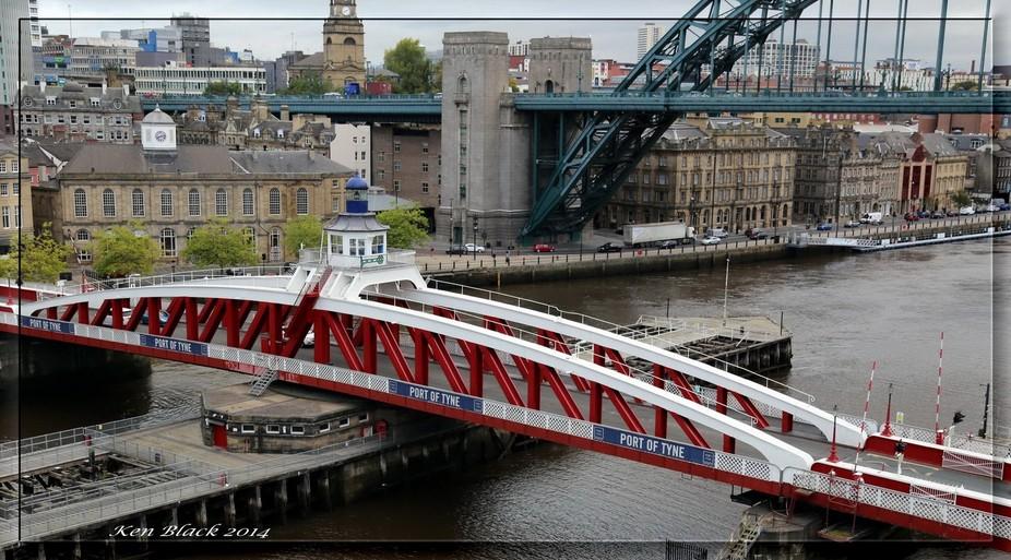 This beautiful bridge is situated between The High Level Bridge and The Tyne Bridge. A wonderful ...