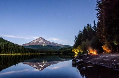 Mt Hood and Trilliam Lake-40