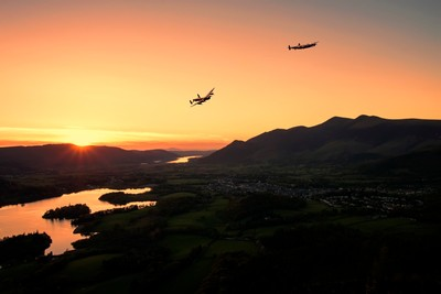 Lancasters Flying Over Keswick