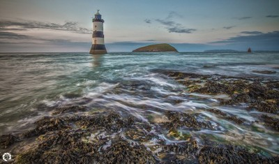 Slow Motion (Penmon Lighthouse) Anglesey