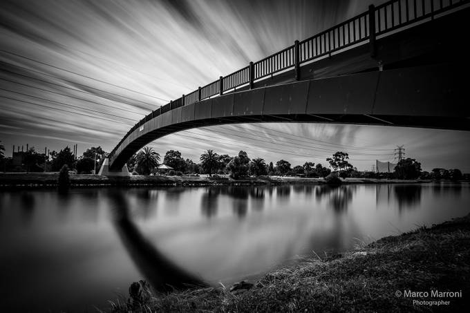 Bridge - Long exposure by MarroniPhoto - Black And White Compositions Photo Contest