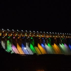 As part of our Nomads Trip back 2013, visited Tungabhadra Dam, Karnataka, India on 16-08-2013. Dam releasing water in 10 Spillway Gates and other...