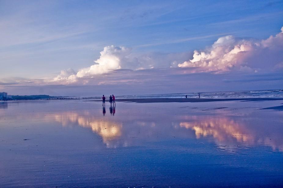 Kolatoli beach point, Cox\'s Bazar.Chittagong,Bangladesh.