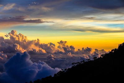 The Clouds Under Kinabalu