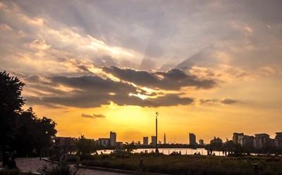Sunset in Greenwich