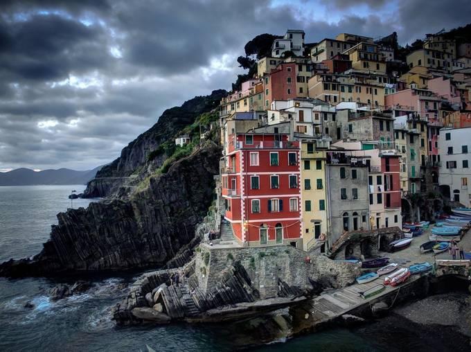 Cinque Terre, Italy by Cashman