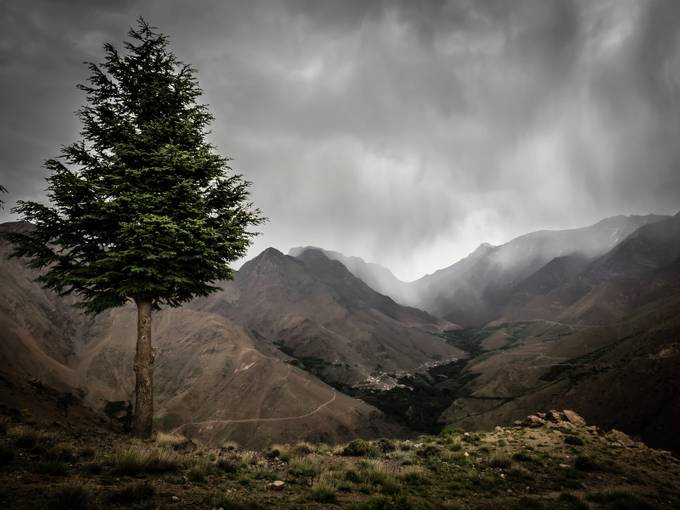 Moroccan Mountains by Cashman - Strong Foregrounds Photo Contest