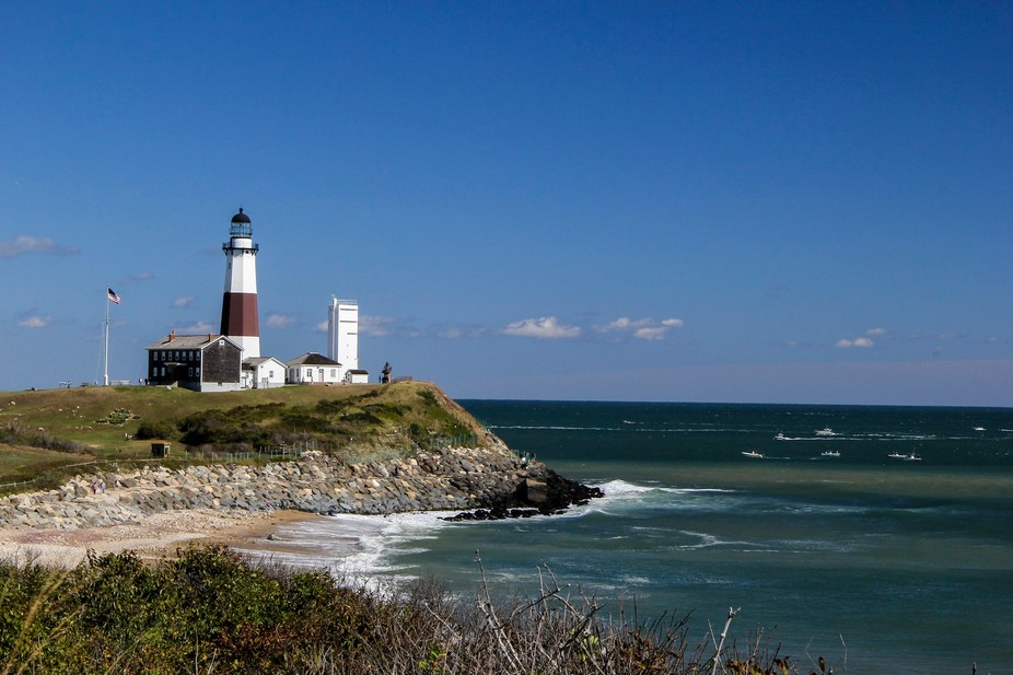 Montauk Light House 10/14   Won Long Island, New York Tourism\'s contest and will be used in there...