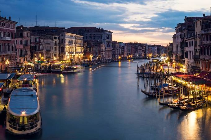 Canal City by jasonaspland - Sunset In The City Photo Contest