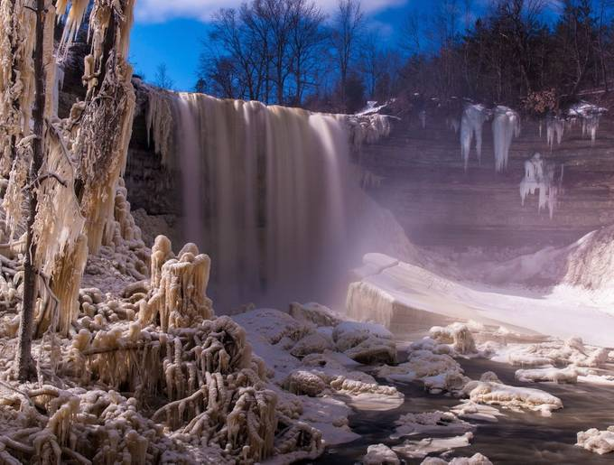 Frozen landscape by JohnStager - Photos With Filters Photo Contest