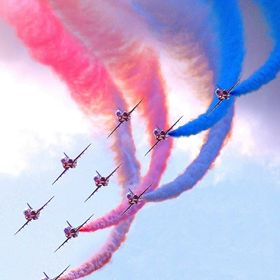 The Red Arrows, the RAFs Air Display Team
