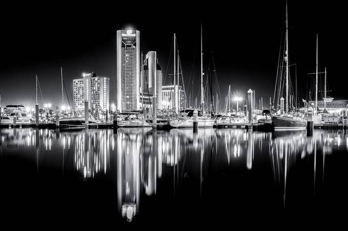 Silver Reflections by JoeV - Black And White Compositions Photo Contest