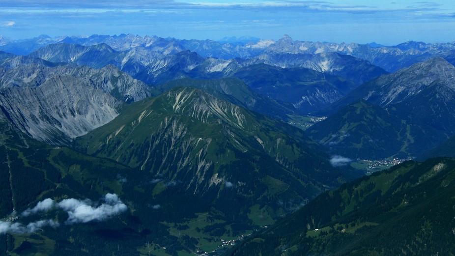 The Zugspitze, Germany\'s highest peak