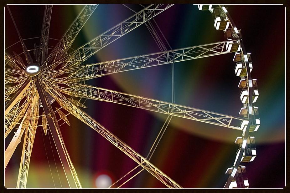 Ferris wheel in paris