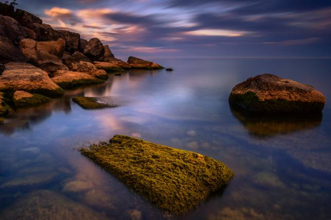 Sunset And Rocks by MarvinEvasco17 - Boulders And Rocks Photo Contest