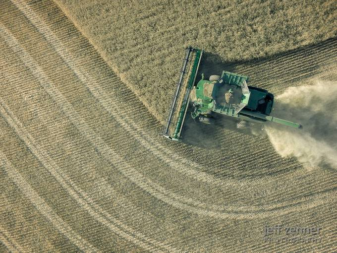 Harvest Patterns! by jeffzenner - Twisted Lines Photo Contest