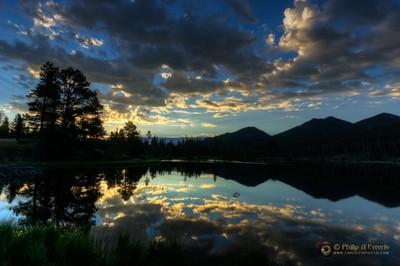 Sprague Lake Sunrise 6707