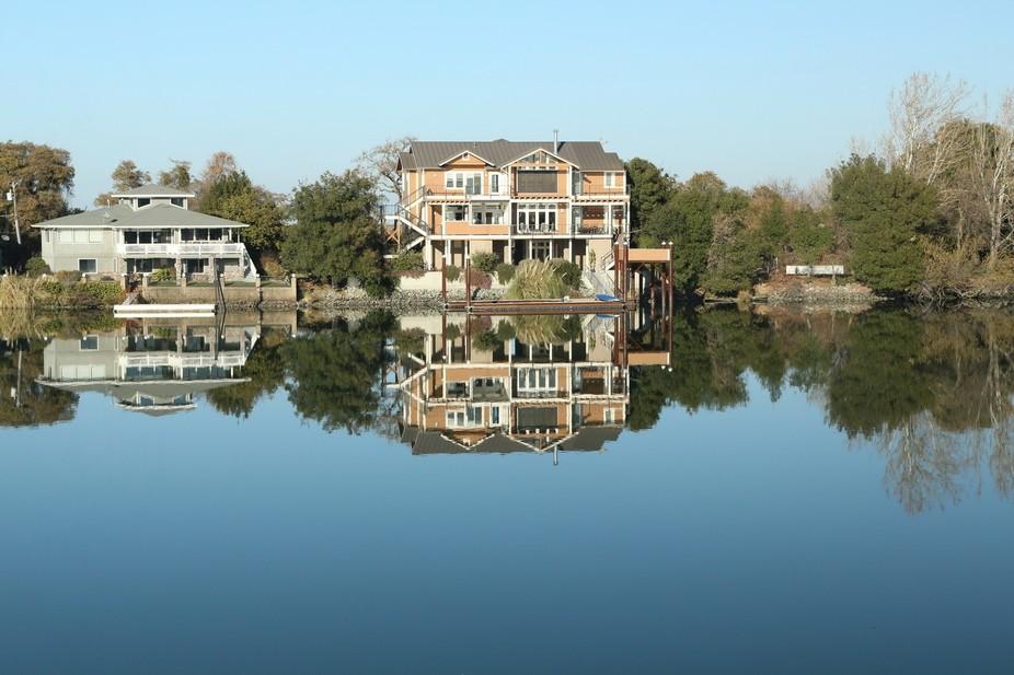 quiet morning on delta