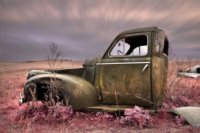 Rusty Twlight by OddlyPoetic - Awesome Cars Photo Contest