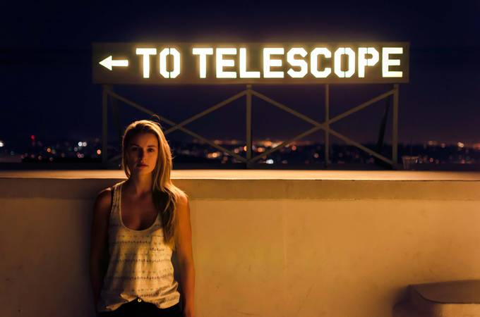 To Telescope by kevinburnside - People At Night Photo Contest