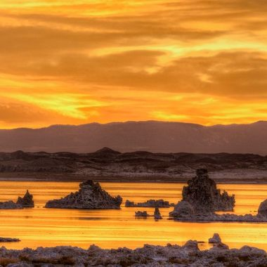 Sunrise at Mono Lake 2014-10-14